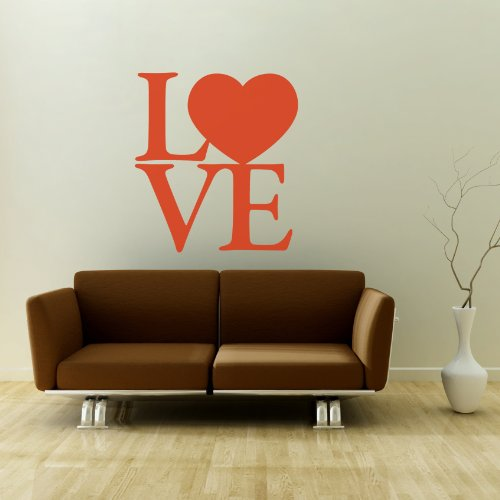 LOVE - Adesivi Murali - Wall Stickers per la decorazione della casa e delle camerette