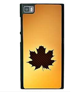Maple Leaf 2D Hard Polycarbonate Designer Back Case Cover for Xiaomi Redmi Mi3