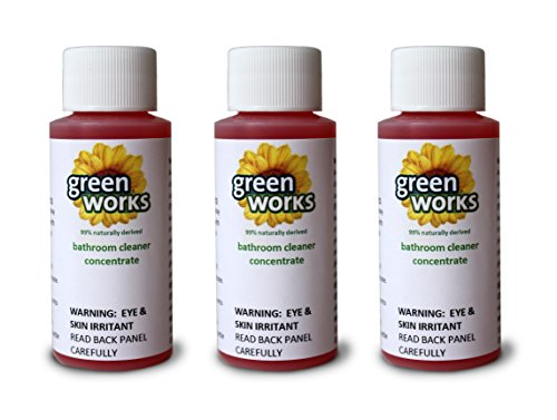Clorox Green Works® Bathroom Cleaner Concentrate Value Pack Makes 3-32 Oz Premium Spray Bottles