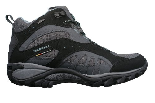 Merrell Siren Song Mid Womens Hiking / Walking Boots - Black