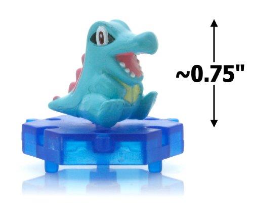"Totodile ~0.75"" Figure - Pokemon DP Super Encyclopedia Mini Figure Series #06 (Japanese Imported)"