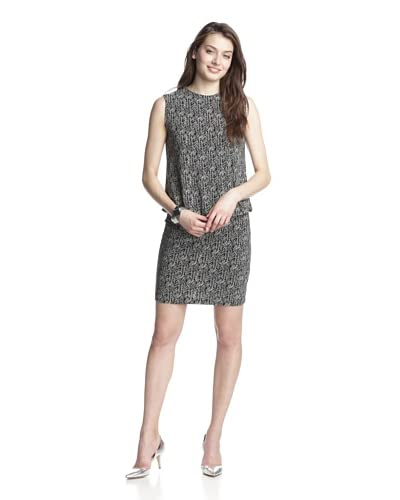 KAMALIKULTURE Women's Sleeveless Blouson Dress