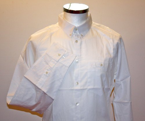 Fred Perry Dress Shirt In White. Size 42. Xlarge.