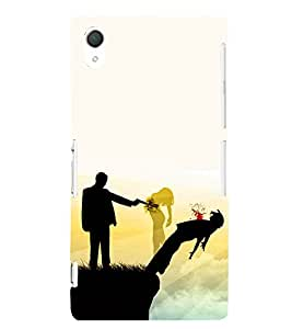 EPICCASE Betrayal Mobile Back Case Cover For Sony Xperia T2 (Designer Case)