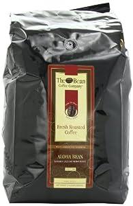 The Bean Coffee Company, Aloha Bean (Hawaiian Hazelnut) Ground Coffee, 5-Pound Bags