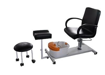 Pedicure Station Hydraulic Chair & Massage Foot Spa Beauty Salon Equipment 1003