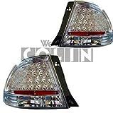 COLIN(コーリン) テールランプ トヨタ アルテッツァ LEDテール クリアクリスタル SXE10/GXE10 1998/10~2005/7 H10/10~H17/7 リフレクター内蔵 ジータ取り付け不可 ストップ/スモールの点灯は赤色です。 【品番】 TO3-612