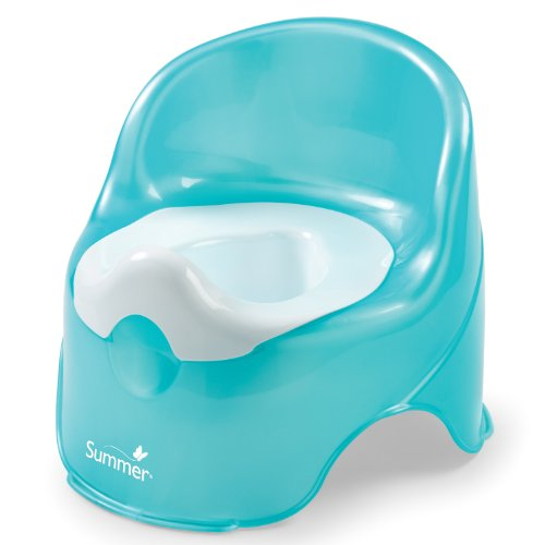 Summer Infant Lil' Loo Potty, Teal and White (Potty Pot compare prices)