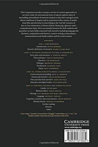 The Cambridge Companion to Narrative Paperback (Cambridge Companions to Literature)