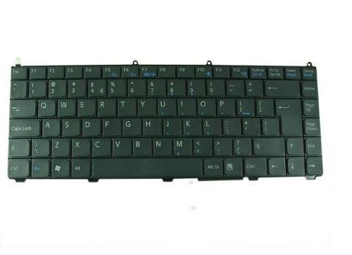 Fake and New Black US SONY Keyboard for SONY Vaio:VGN-FE855E,FE865E,FE870E,FE880E,FE880E/H,Compatible:148024421