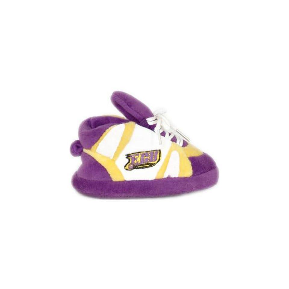 East Carolina Pirates Comfy Feet NCAA Baby Slippers