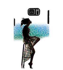 PRINTSWAG GIRL Designer Back Cover Case for SAMSUNG GALAXY NOTE 5 EDGE