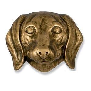 Dachshund Door Knocker Bronze