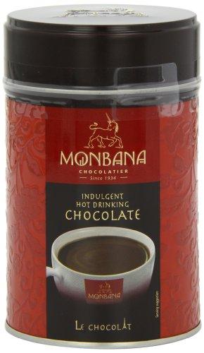 Monbana Tresor Chocolate Powder Tin 250 g (Pack of 3)