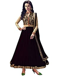 Great Indian Sale Anarkali Suits For Women Party Wear Clothing Banglori Silk Fabric Salwar Suit With Dupatta (...