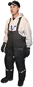 Ice Armor 8711 Insulated Bibs, Large, Black by Ice Armor