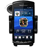 IN CAR HOLDER WINDSCREEN SUCTION MOUNT CRADLE FOR SONY ERICSSON XPERIA PLAY