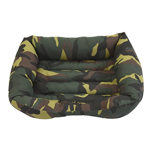 Bed Camouflage Green D Large 100 x 80 cm