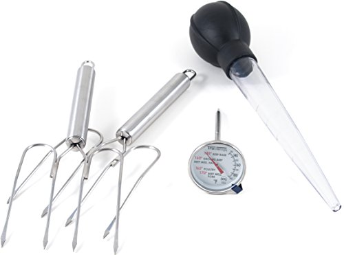 Taylor TruTemp Meat Thermometer, Lifters and Baster Set (Bread Lifter compare prices)