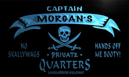 enseigne-lumineuse-pw1057-b-morgans-captain-private-quarters-skull-bar-beer-neon-light-sign