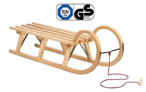 Impag® Hörnerschlitten mit Zuggurt 115 cm lang
