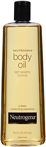Neutrogena Body Oil, Light Sesame Formula, 16 Ounce