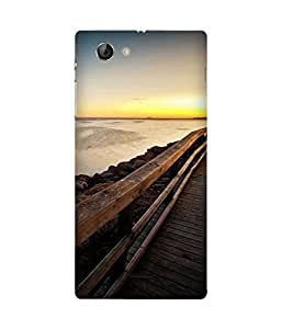 Walk On The Porch Sony Xperia J Case