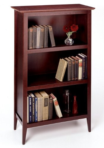 Contemporary 3-Tier Shelf Bookcase