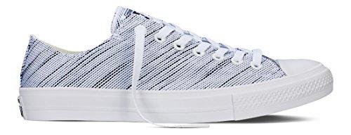 Converse Sneakers Chuck Taylor All Star II C151089, Scarpe da Ginnastica Basse Unisex - Adulto, Bianco, 43 EU