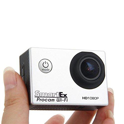 SMARTEX-ProCam-Sport-WiFi-HD-1080p-Completa-di-Kit-Accessori-Action-Camera-12MP-lente-170-Waterproof-Videocamera-Pro-Go-Kart-Sci-Scuba-Diving-Sport-Estremi