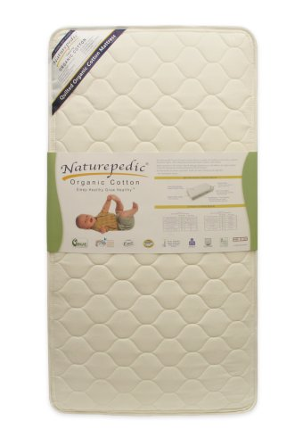 Naturepedic Quilted Organic Cotton Deluxe Crib Mattress