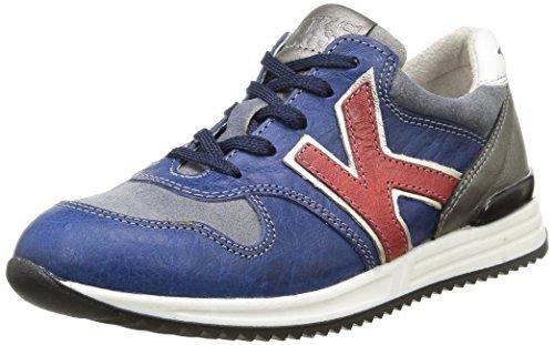 Ikks - Samuel, Sneakers per bambini e ragazzi, blu (vtc bleu/rouge dpf/2757), 37