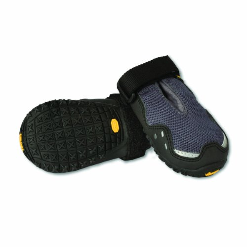 Ruffwear Grip Trex Boots for Dogs, 2.0-Inch, Granite Gray