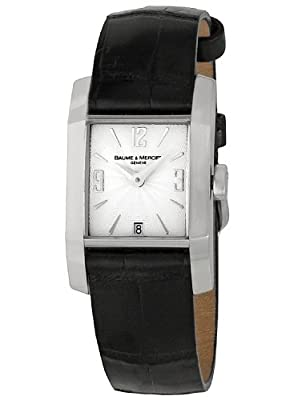 Baume & Mercier Women's MOA08668 Diamant Silver Dial Watch
