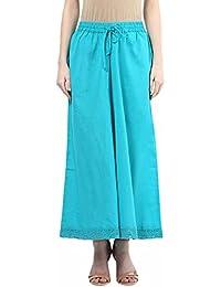 Rangmanch By Pantaloons Women's Cotton Flex Palazzo