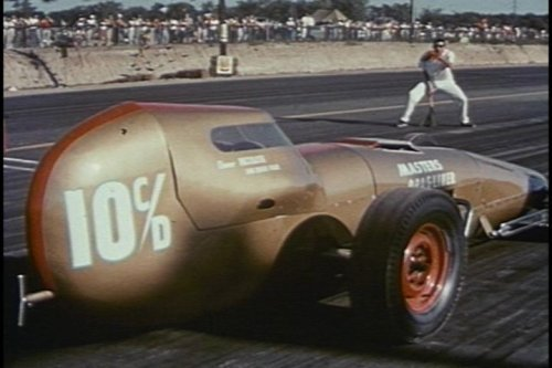 50's Muscle Cars & Drag Racing: Cult Hot Rods & Classic American Street Racing DVD by George de Normand