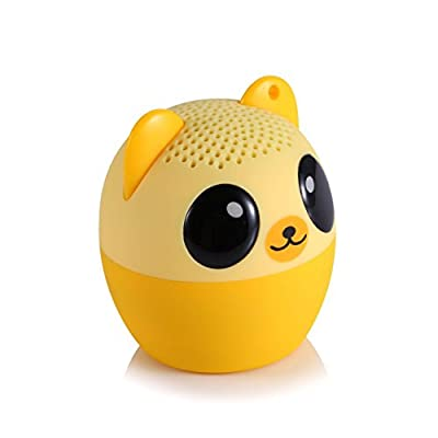 My Audio Pet Mini Bluetooth Animal Wireless Speaker with Powerful Rich Room-filling Sound - 3W audio driver Remote Selfie Function - Easily connect to smartphones-tablets New Fun Animal Design