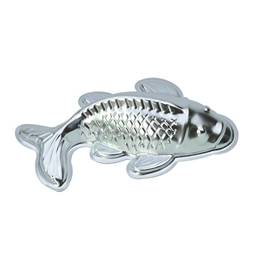 GXHUANG Lifelike Carp Aluminum Cupcake Fish Cake Baking Cyprinoid Mold (Fish) (Fish Mold Pan compare prices)