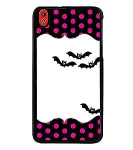 Printvisa Ultra Bats 2D Hard Polycarbonate Designer Back Case Cover for HTC Desire 816 :: HTC...