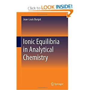Ionic Equilibria in Analytical Chemistry ebook downloads