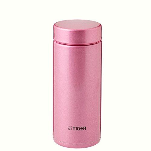 TIGER 水筒 ステンレスミニボトル 「サハラマグ」 軽量(夢重力) ブライトピンク 0.35L MMZ-A035-PH