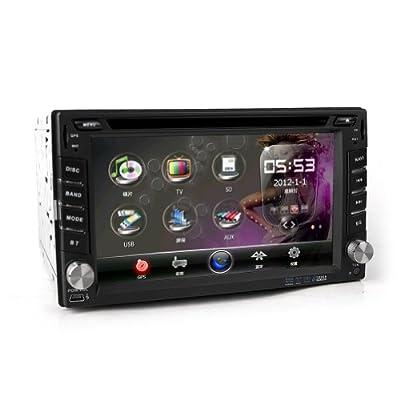 Baytter 62 Zoll 2din Gps Dvd Autoradio Navigation Bluetooth Usb Ipod Fr Nissan Und Rckfahrkamera Nummernschild von Baytter