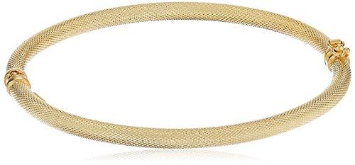 14k-Italian-Textured-Bangle-Bracelet