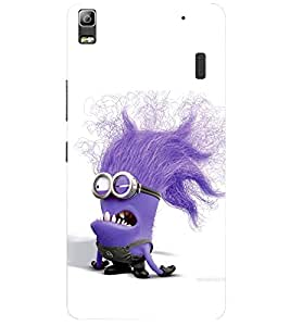 Doyen Creations Printed Back Cover For Lenovo A7000