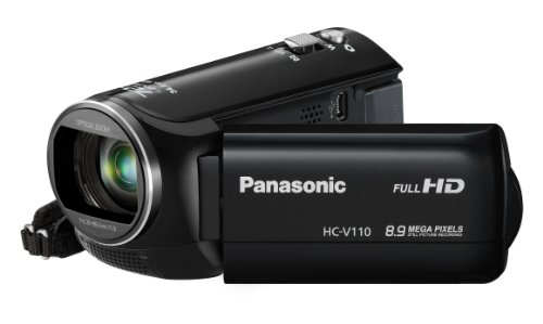 Panasonic HC-V110 Light Weight HD 1080p Digital Camcorder (black)