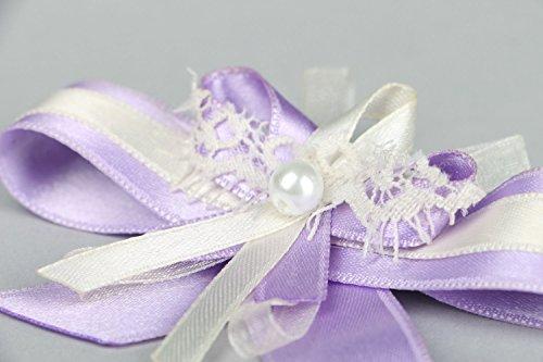 Boutonnière pour le témoin du marié faite main