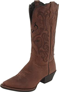 Amazon Com Justin Boots Women S Stampede Western Boot Shoes