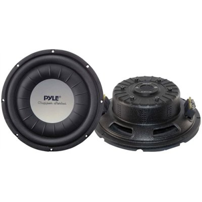 Pyle Plwch10d 10 1000w Car Aduio Shallow Mount Subwoofer Sub 1000 Watt pyle h men of iron