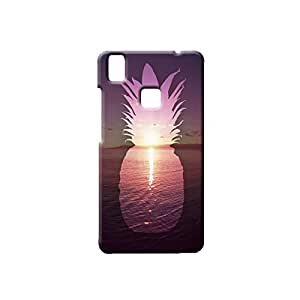 BLUEDIO Designer Printed Back case cover for VIVO V3 - G3318