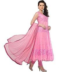 BK ENTERPRISE Women's Pink Braso Attractive Dresses(bk-11_freesize)